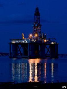 Im a lucky gal......North Sea oil rig