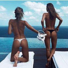 "beachillz: ""The tans will fade, but the memories made in a bikini will last forever. Follow @bikinibeachlife @beachillz and @sandgal_bikinis for more beautiful bikinis, bikini models & beautiful beach destinations #bikinigirl #tanlines #tanglines..."