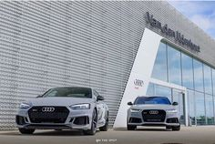 #teamnardo needs your help: only one fits into the garage. Nardogrey #RS5 or #RS6? . pic @ots.photography . ---- oooo #audidriven - what else ---- . . . . #Audi #AudiRS5 #RS5Coupe #newRS5 #newRS5color #AudiRS6 #RS6Avant quattro #4rings #AudiSport #nardogrey #drivenbyvorsprung #nardogreyRS5 #nardogreyRS6 #audirsperformance #carsbyaudisport #greyaudi