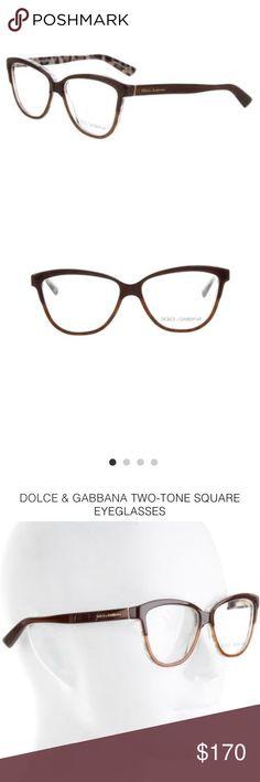 4d3aec91eabf6 Dolce   Gabbana two tone eyeglasses. (NWT) Beautiful Dolce   Gabbana two  tone eyeglasses. Never worn