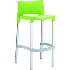 """Siesta Exclusive 29.52"""" Bar Stool Upholstery: Tropical Green"""