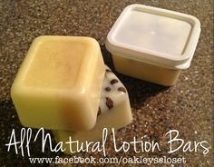 All Natural Hand Made Lotion Bars ~ Eczema, Psoriasis, Inflammation, Joint Pain, Growing Pains, Colds, Insect Repellant, & Paw Balm ~