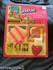 New 1981 Mattel Barbie Dream House Finishing Touches Living room NO 3769