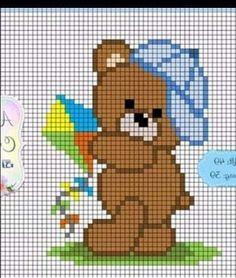 Cross Stitch Bookmarks, Cross Stitch Love, Cross Stitch Alphabet, Cross Stitch Designs, Cross Stitch Patterns, Baby Boy Knitting Patterns, Crochet Blanket Patterns, Baby Knitting, Cross Stitching