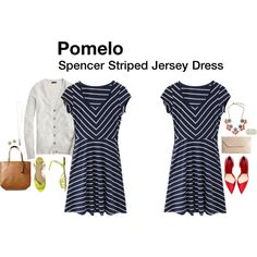 Very Cute.. Wish I got this dress. Love it.. Spencer Striped Jersey Dress - stitch fix