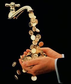My money taps are flowing nonstop into my life. ...I spend luxuriously on my desires, needs and wants