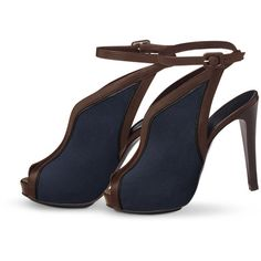 Shoes Hermès Gala ($1,375) ❤ liked on Polyvore