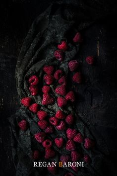 Food Photography Red Raspberries Still Life Food Art Home