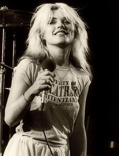 Debbie Harry on stage. #stunning #gorgeous #DebbieHarry