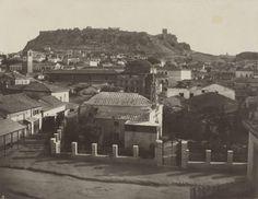 The Monastiraki and the Acropolis James William Stillman 1869 Heinrich Schliemann, Old Greek, Boston University, Acropolis, In Boston, Archaeology, Paris Skyline, Travel, Wedding Ideas
