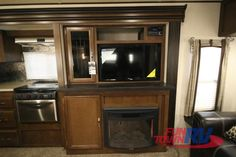 The Wildwood Heritage Glen travel trailer by Forest River offers two slides and a rear living area. As you enter the travel trailer, to the left. Forest River Rv, Best Tv, Exterior, Travel, Viajes, Destinations, Traveling, Outdoor Rooms, Trips