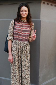 Rachel Rutt MBFWA street style model off duty shot by Liz Mcleish
