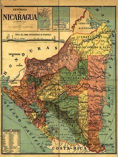 He encontrado este interesante anuncio de Etsy en https://www.etsy.com/es/listing/216242003/nicaragua-map-print-map-vintage-old-maps