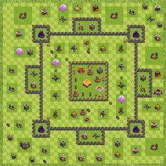 War Base Town Hall Level 9 By W0nkz2 (War Winner TH 9 Layout)