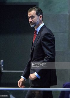 King Felipe VI of Spain attends the 'Codespa' awards ceremony at the 'Rafael del Pino' auditorium on January 16, 2015 in Madrid, Spain.