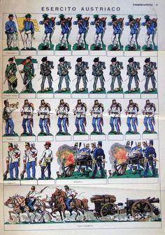 soldatini anni 50 - da ritagliare