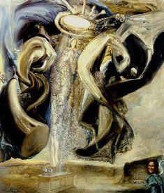 Anti-protonic Assumption by Salvador Dalí