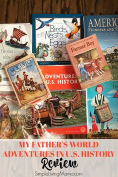 Take a look at the My Father's World Adventures in U.S. History curriculum with this review. See how one family used MFW Adventures in their homeschool, what they added for a great year, and how they enjoyed it.