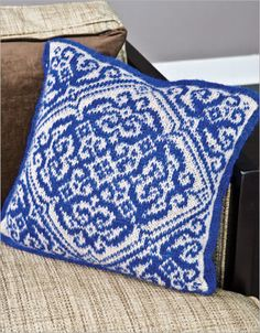 Delft Pillow - Knitter's Review Pattern Store