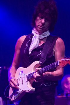 "Geoffrey Arnold ""Jeff"" Beck - so much music in one soul."