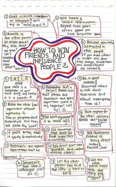 How to win friends and influence people :)