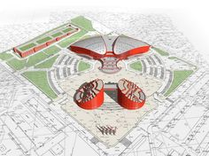 Athletic sports complex. Ulan-Ude, Russia Sports Complex, Architects, Russia, Athletic, Cards, Athlete, Map, Architecture