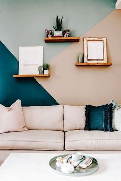 Bedroom Wall Designs, Living Room Designs, Living Room Decor, Bedroom Decor, Wall Colors For Bedroom, Bedroom Paint Design, Good Living Room Colors, Interior Wall Colors, Teal Living Rooms