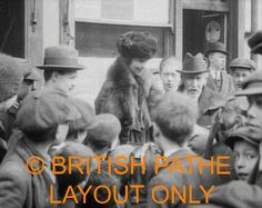 Consuelo Vanderbilt | Meeting constituents during her campaign for a seat (1917) on the London County Council. [b-roll Video Part I]