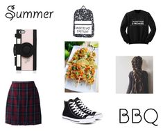 """Summer BBQ"" by squishycake on Polyvore featuring Lands' End, Converse, Kate Spade and summerbbq"