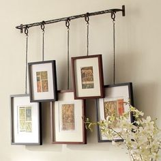 Home Products twig - picture rail that is not flat to the wall