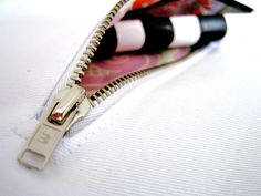 Emmaline Bags: Sewing Patterns and Purse Supplies: Sew an Internal Zipper Pocket Method 2 - A Tutorial