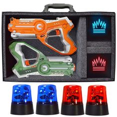 5aff4443dae9a DYNASTY TOYS Camping Games - Laser Tag - Capture The Flag Complete Set -  Gift Guru