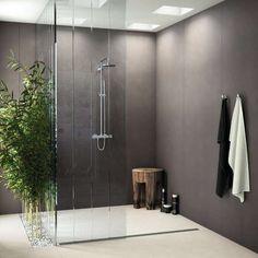 Pareti effetto cemento - Cemento liscio per il bagno