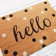 Shop For Hello Doormat (1u00275 X 2u00275). Free Shipping On Orders Over $45 At  Overstock.com   Your Online Home Decor Shop! Get 5% In Rewards With Club O!  ...