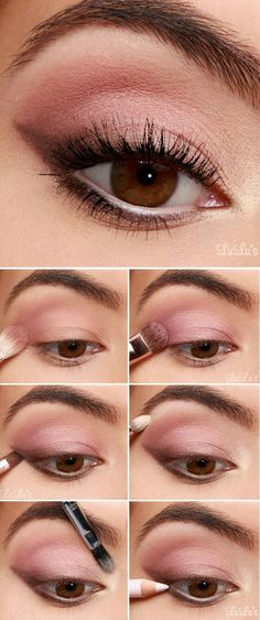 Makeup Tutorial: Sultry Shadowed Cateye - Make Up - .- Makeup Tutorial: Sultry Shadowed Cateye – Make Up – # Sultry - Eye Makeup Steps, Simple Eye Makeup, Natural Eye Makeup Step By Step, Natural Dewy Makeup, Makeup Eyeshadow, Hair Makeup, Pink Makeup, Eyeshadows, Sultry Makeup