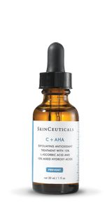My daily antioxidant! C + AHA exfoliates and prevents my skin from UV damage/aging!  SkinCeuticals | Prevent
