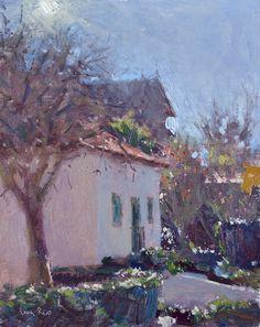 Lena Rivo, Fresh morning in the garden - Sintra Impressionist Paintings, Old Paintings, Impressionism, Abstract Landscape, Landscape Paintings, Landscapes, Russian Painting, Galerie D'art, Art World