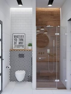 Inspiration for bathroom furniture & accessories, modern vanity units, illuminated mirrors, bathroom wall sconces & pendants, plus decor colours and styles. furniture 51 Modern Bathroom Design Ideas Plus Tips On How To Accessorize Yours Simple Bathroom, Modern Bathroom Design, Bathroom Interior Design, Master Bathroom, Bath Design, Small Bathroom Ideas, Modern Bathrooms, Bathroom Mirrors, Small Bathroom With Bath