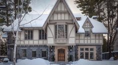 Image result for grey and white mock tudor house