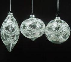 透明圣诞玻璃球 彩绘玻璃工艺品 圣诞树装饰品挂件礼物