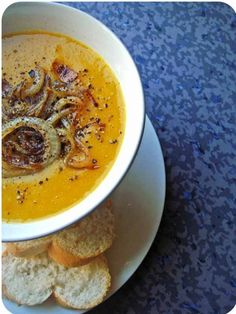 Pumpkin and Lentil Soup Recipe