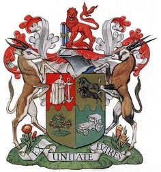 South African Coat of Arms 1932 - 2000 Union Of South Africa, South African Flag, Mein Land, South Afrika, African History, Coat Of Arms, Childhood Memories, Country, Badge