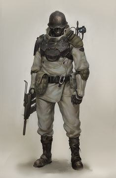New Order like Soldier Zombie Rpg, Armor Concept, Concept Art, Character Concept, Character Art, Sci Fi Armor, Future Soldier, Star Wars Rpg, Sci Fi Characters