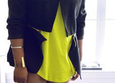 DIY Burberry Prorsum Inspired Zipper jacket