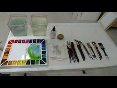 """Transparent Watercolor Step by Step Tutorial, Companion to """"Floral Blush"""" video demonstration. - YouTube"""
