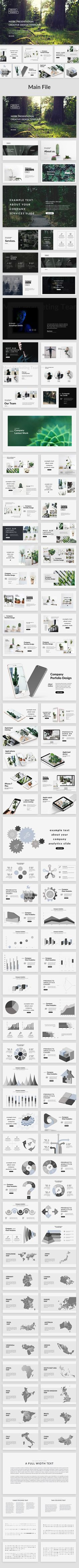 Niobe - Creative Keynote Template
