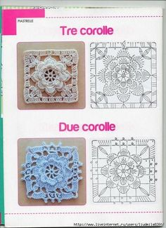 New crochet doilies art inspiration ideas – Granny Square Motifs Granny Square, Granny Square Crochet Pattern, Crochet Diagram, Crochet Squares, Crochet Doilies, Crochet Flowers, Crochet Granny, Granny Squares, Crochet Motif Patterns