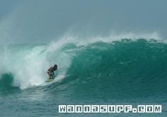 Surfing in Indonesia