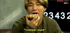 Daesung's example of eating a waffle sexy  ... yep, you nailed it