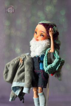 "Ever After High Maddeleine custom ""Christmas Giveaway 2016-17"""